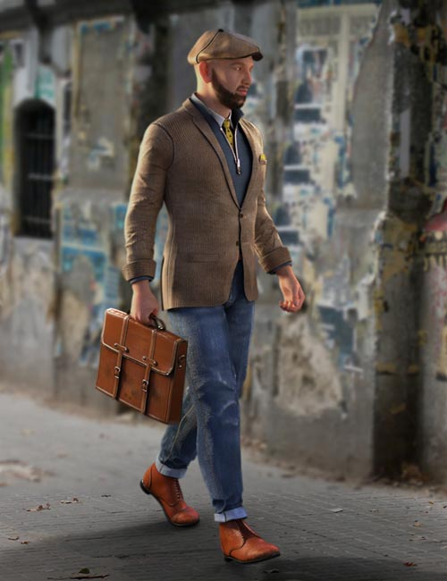 Man About Town for Genesis 3 Male(s)