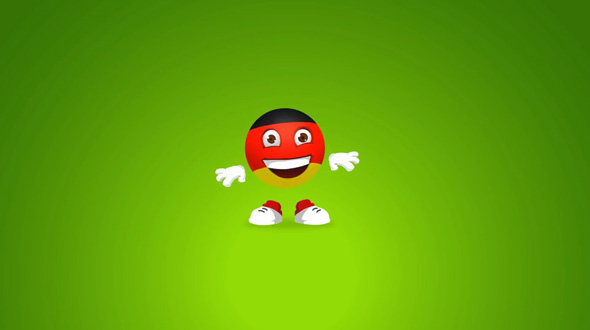 Soccer-ball Character