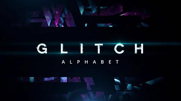 Glitch Alphabet