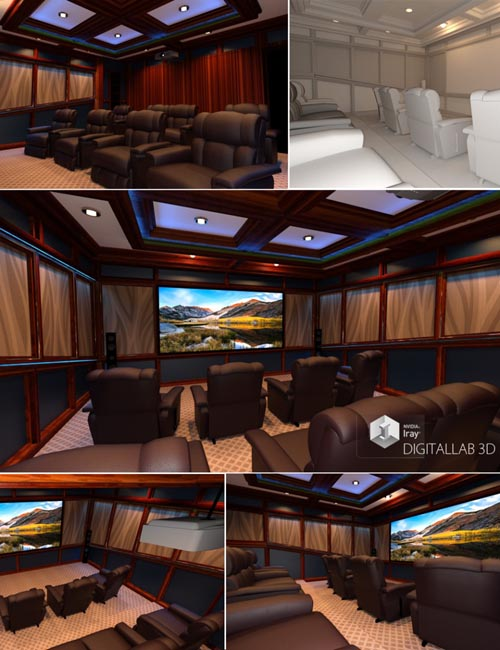 Digitallab3d Home Theater