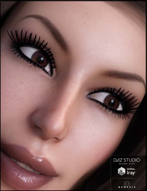 Get Lashed - Lashes System for Genesis 3 Female(s)