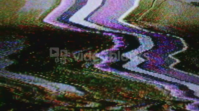 Warping Television Static