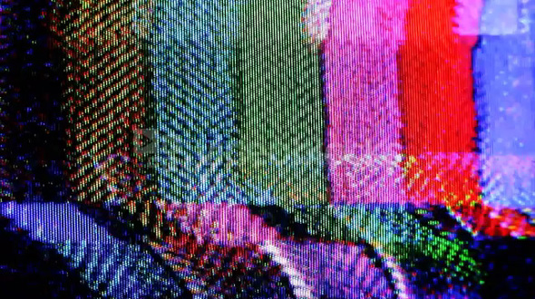 Distortion Color Bars