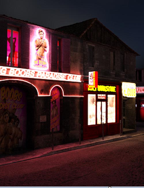 Red Light District For DS iray