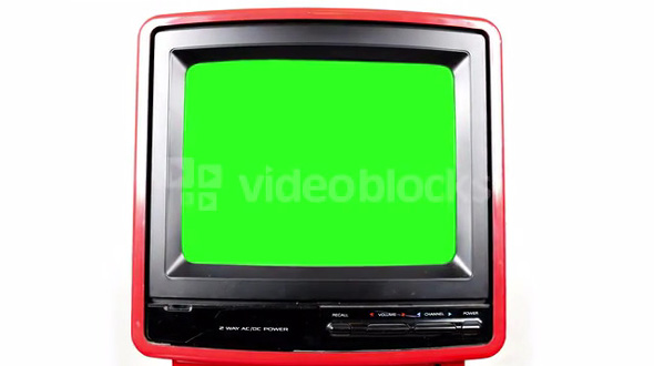 Green Screen TV Slide