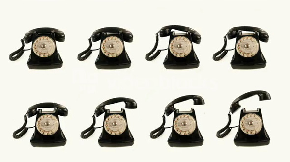 Old Rotary Dial Phones