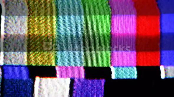 Skipping Frame Color Bars