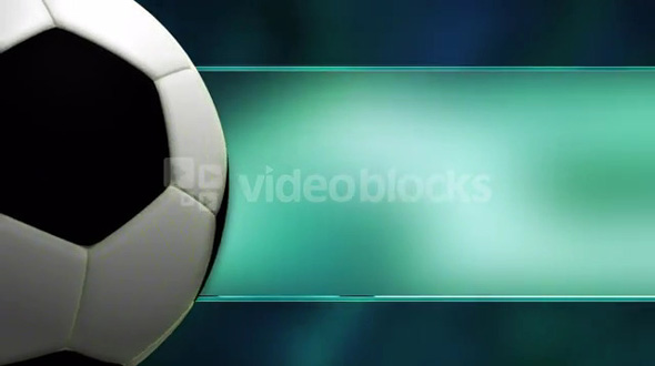 Soccer On Teal