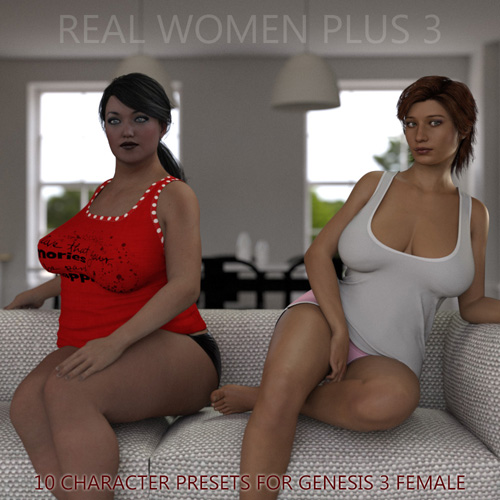 Real Women Plus 3