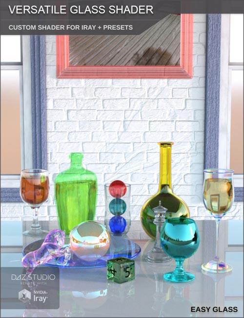 Versatile Glass Shader   Custom Shader and Presets for Iray