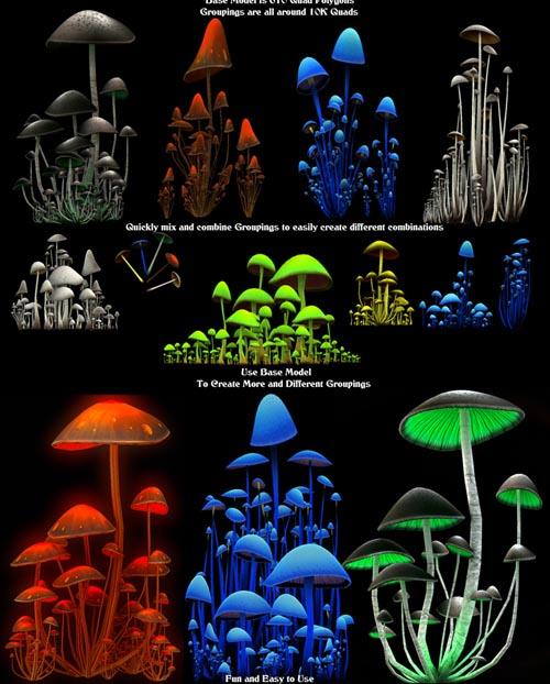 MushroomZ Set1   Extended License