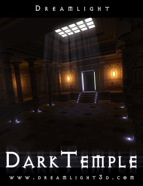 Dark Temple Light Set for DAZ Studio
