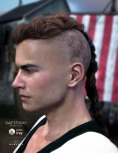 Viking Hair for Genesis 3 Male(s)