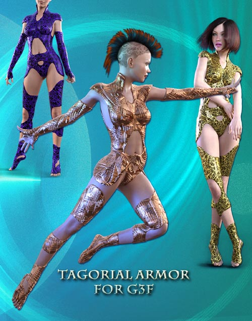 Tagorial ARMOR for Genesis 3 Female(s)