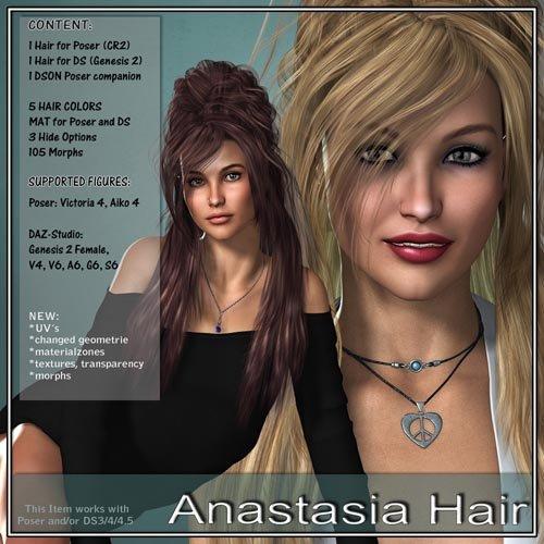 Anastasia Hair for V4 and G2
