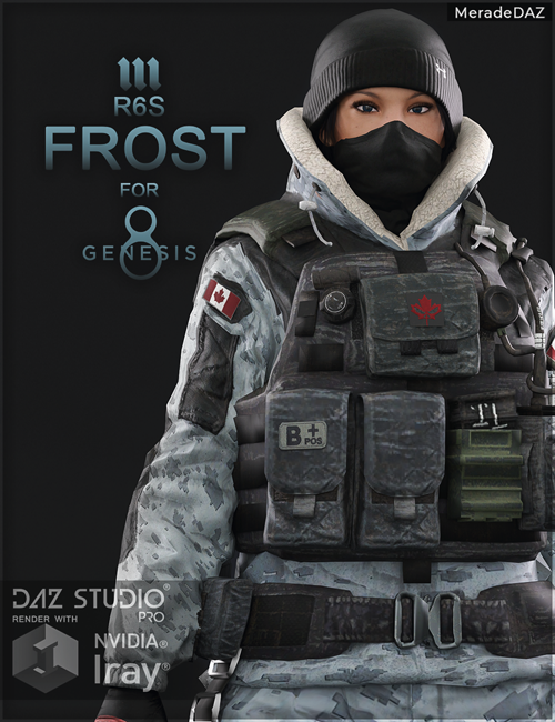R6S Frost for Genesis 8 and 8.1 Female