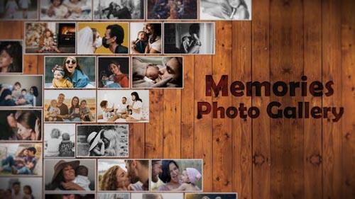 Videohive - Memories Photo Gallery - 31794896