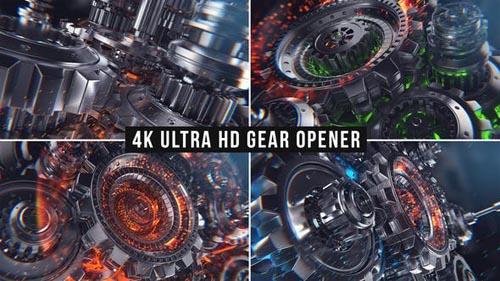 Videohive - Gear Opener - 31833907