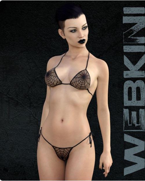 Webkini For Genesis 8