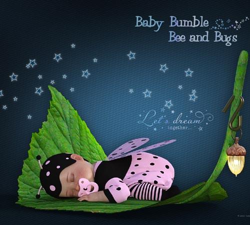 Baby Bumble Bee & Bugs
