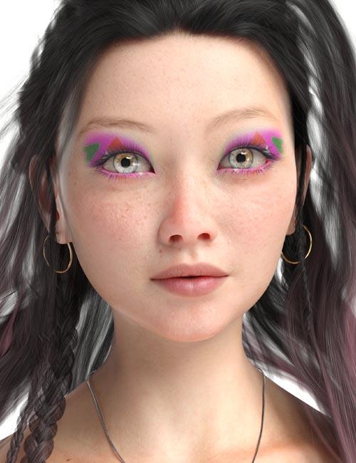 Shin Yeon HD for Genesis 8 Female