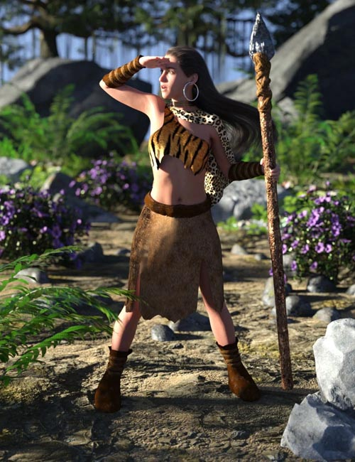 dForce Wild Woman Outfit for Genesis 8 Female