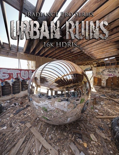 iRadiance Pro Series 16k HDRIs - Urban Ruins