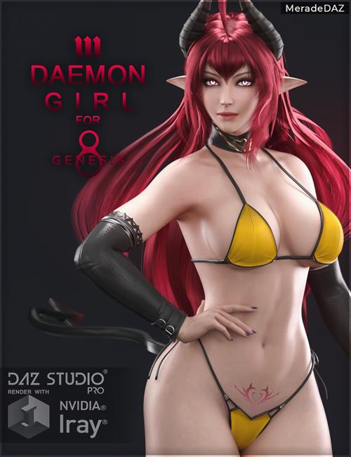 Daemon Girl for Genesis 8 and 8.1 Female