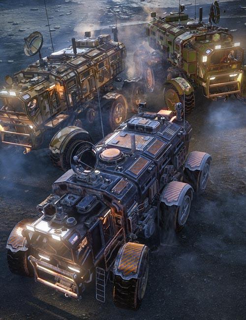 Sci-fi Rover Titan: Loyal Cross