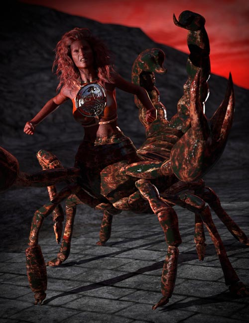 SYS Monsters in the Dark Textures for SY Scorpion Folk