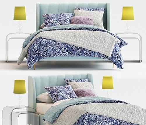 Avalon Channel Stitch Bed