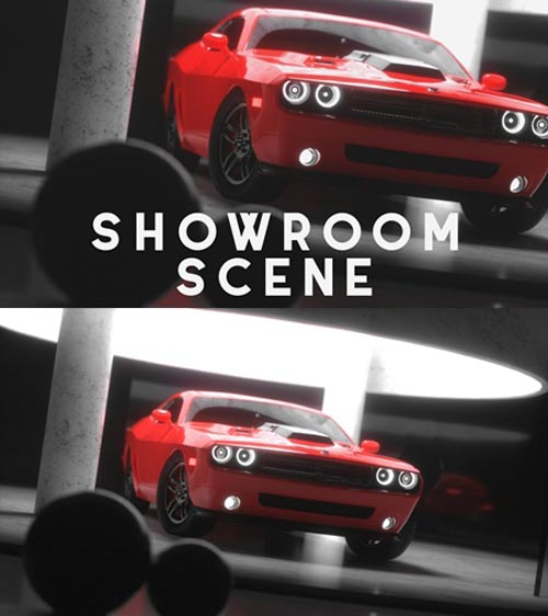 CAR SHOWROOM SCENE