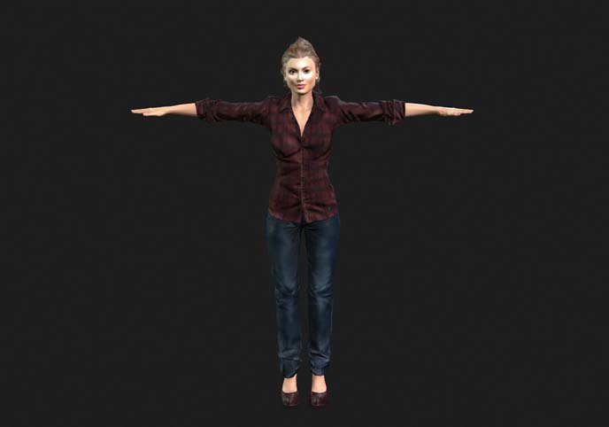 Female 3d Character