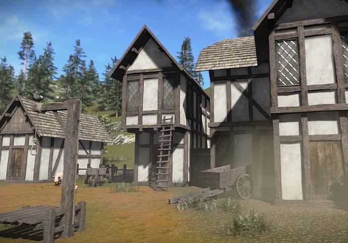 FREE Medieval Buildings Sample Model