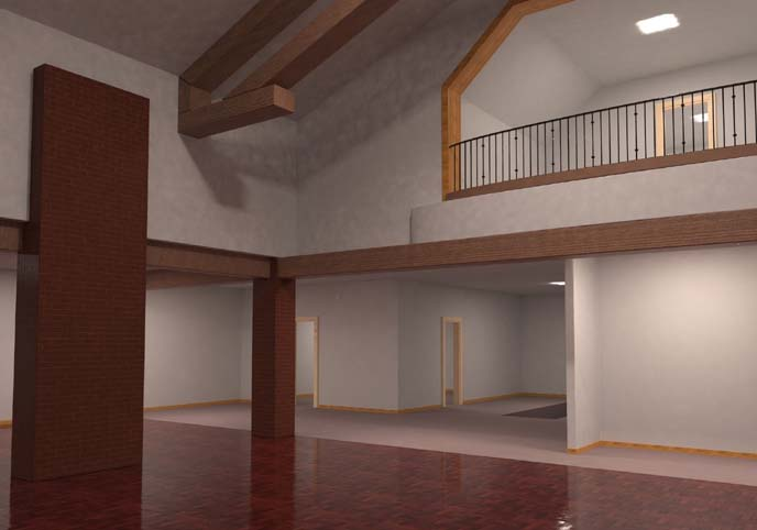 House Interior Empty