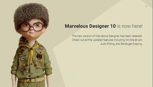 Marvelous Designer 10 Personal 6.0.623.33010 Win x64