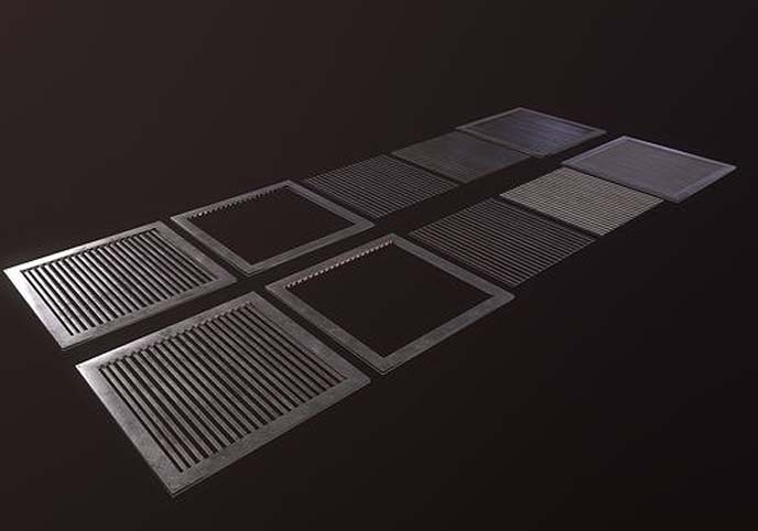 Grate Floor Small Pack