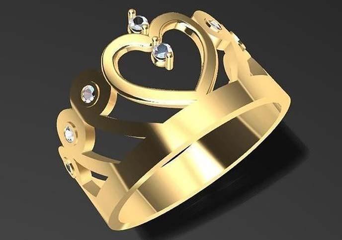 Birthday Crown Ring
