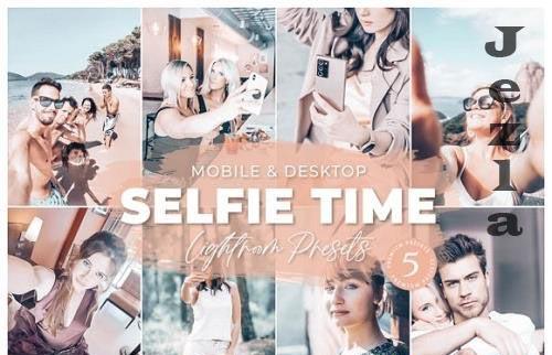 Selfie Time Mobile Desktop Lightroom Presets Lifestyle Instagram