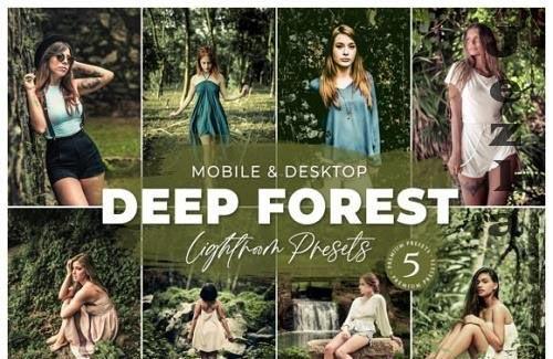 Deep Forest Mobile Desktop Lightroom Presets Lifestyle Instagram