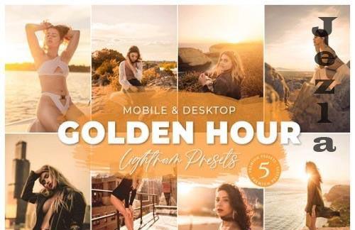Golden Hour Mobile Desktop Lightroom Presets Lifestyle Instagram