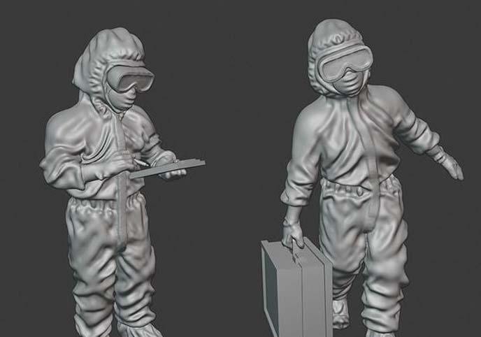 Epidemic medics - 28mm wargaming miniatures