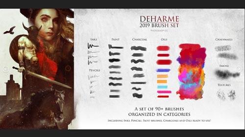 Artstation - Deharme Brush Set