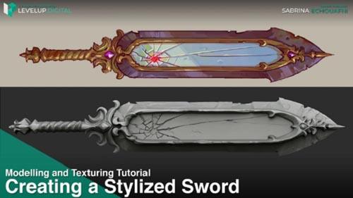 Levelup.Digital - Creating a Stylized Sword - Sabrina Echouafni