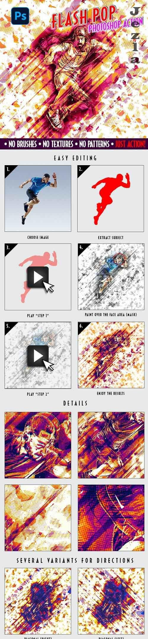 FLASH POP | Pop Art-Action - 33821594