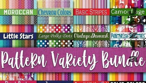 Digital Paper Pattern Variety Bundle - 6119813