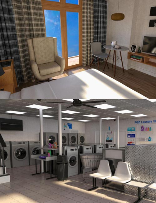 FG Apartment and Laundry Shop