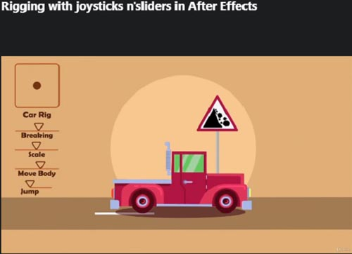 Udemy - Rigging with joysticks n'sliders in After Effects