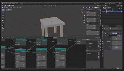 Udemy - Create Objects Procedurally With Geometry Nodes In Blender
