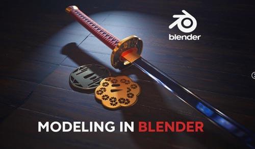 Artstation - Modeling in Blender